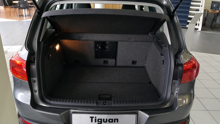 Boot Size - Not as huge as the CRV, but still enough space to fit things in