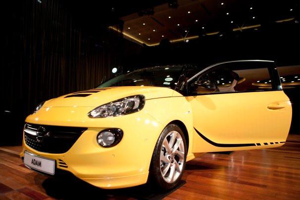 Funky Opel Adam at launch