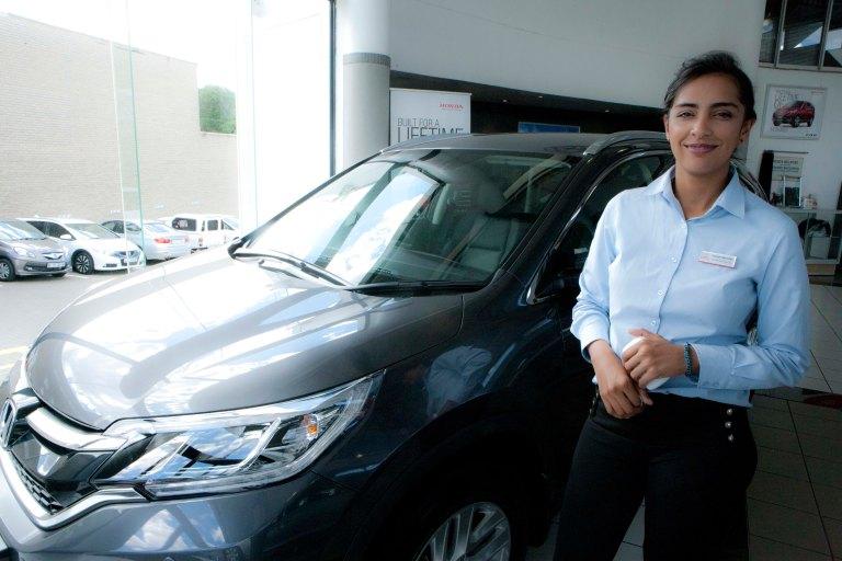 Nujmah from Honda Melrose