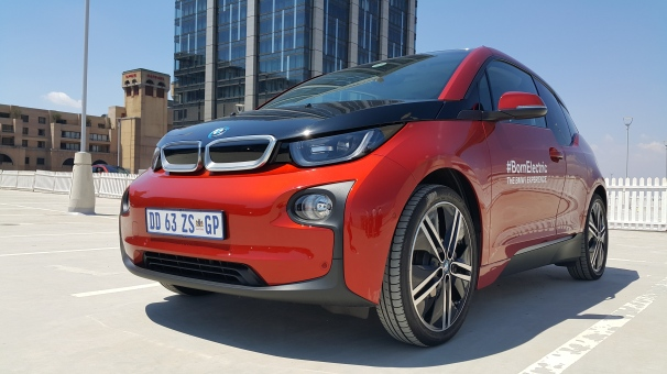 BMW i3 like a very small SUV - especially when driving