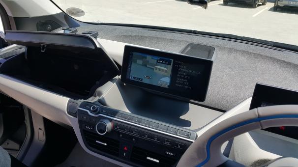 BMW i3 Dash Interior