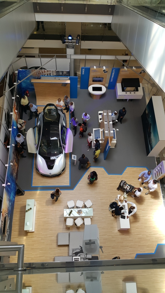 BMW Launch at Sandton City - BMW i
